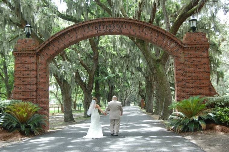 Laurelee and Paul got married at Bethesda Boys Academy, where her grandfather was formerly headmaster!