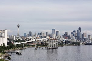 View of Downtown Seattle From Our Ship