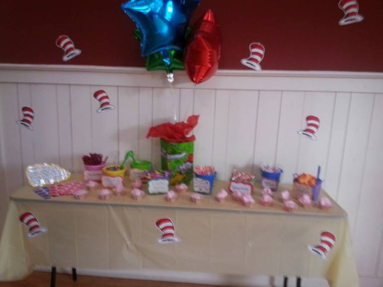 Yummy candy buffet!